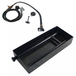 Portable LP Tank Kit- Steel Burner Box