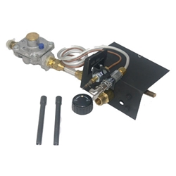 Safety Pilot Valve with Regulator safety pilot valve kit, NG or LP safety pilot valve kit, pilot valve kit.