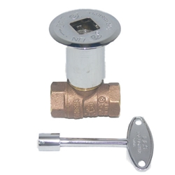 Keyed Main Shut-Off Valve straight manual valve, gas fireplace, gas fireplace log, gas fire log accessories, gas fire log, gas fire pit.