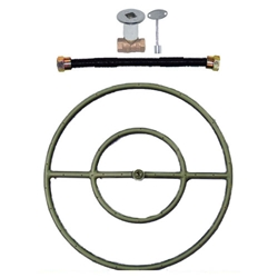 Burner Ring Kit - Black Iron burner ring kit, burner ring, fire pit, fire pits, fire pit burners
