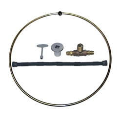 Open Burner Ring Kit - Stainless Steel burner ring kit, burner ring, fire pit, fire pits, fire pit burners