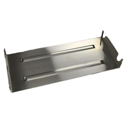 "U Burner Tray- Stainless Steek ""stainless steel fireplace burner, fireplace burner, fireplace burners."