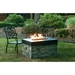 Linear Stacked Stone Fire Pit - DR-FP-LIN40
