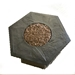 Cast Resin Hex Woven Look Chat Firepit - DR-FP-HEX