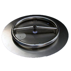 18 inch Stainless Steel Pan-Ring