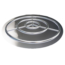 36 inch Stainless Steel Pan-Ring