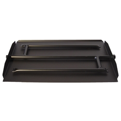 29 inch Powder Coated Triple Xtra Flame Burner Pan