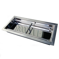 24 inch Stainless Steel Drop-In Rectangular Burner