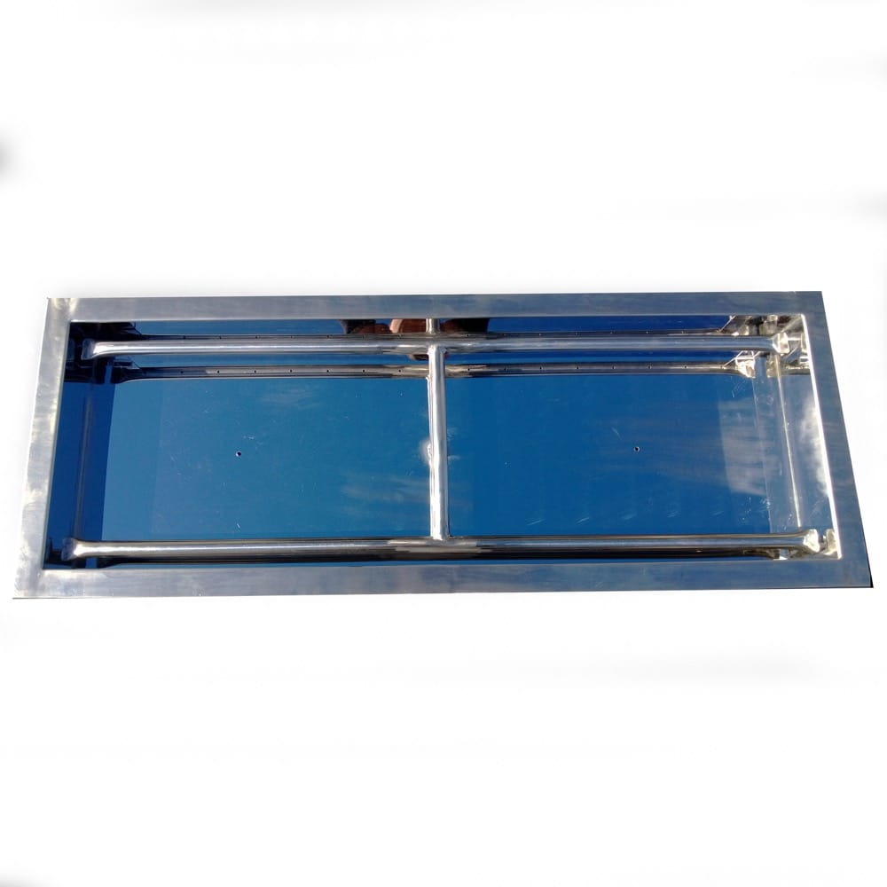 36 inch Stainless Steel Drop-In Rectangular Burner - DR-B-DIH-36
