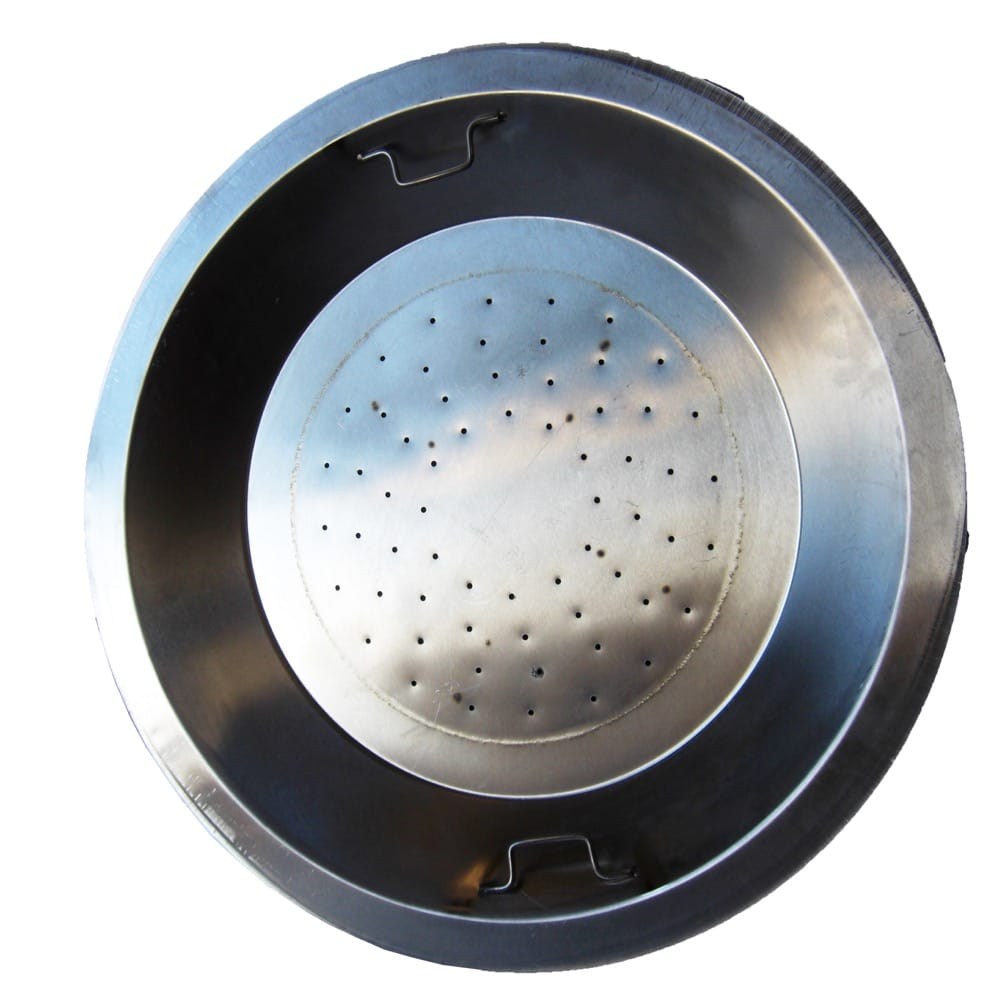 20 inch Stainless Steel Drop-In Round Burner Pan LP - DR-B-SS22R-LP