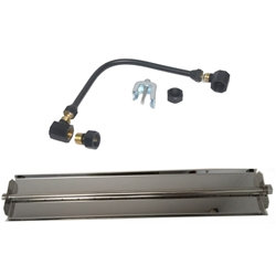 18 inch Stainless Steel Linear Burner Pan Kit NG