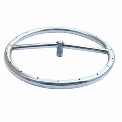 12 inch Stainless Steel Fire Pit Ring