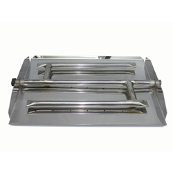 17 inch Stainless Steel Triple Xtra Flame Burner Pan